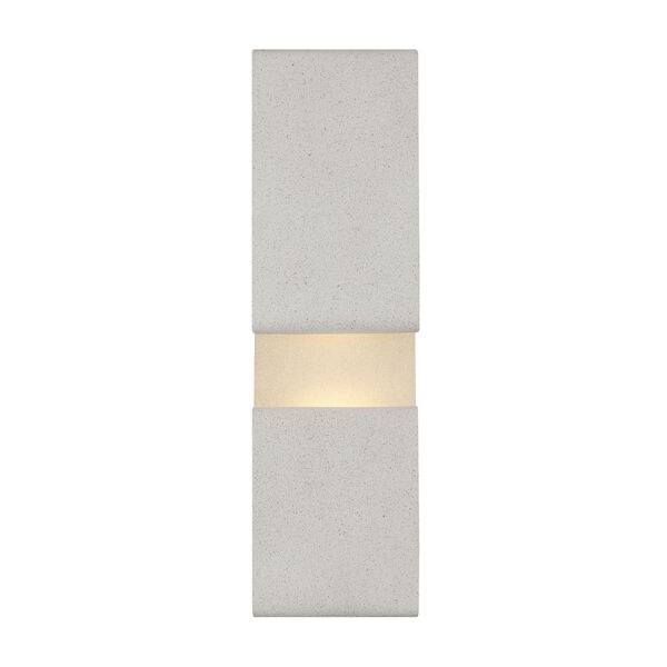 Contour Cement Gray Six-Inch LED Wall Mount, image 2