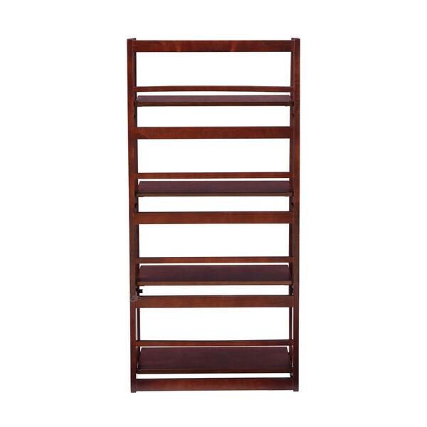 Olivia Walnut Folding Bookcase, image 5