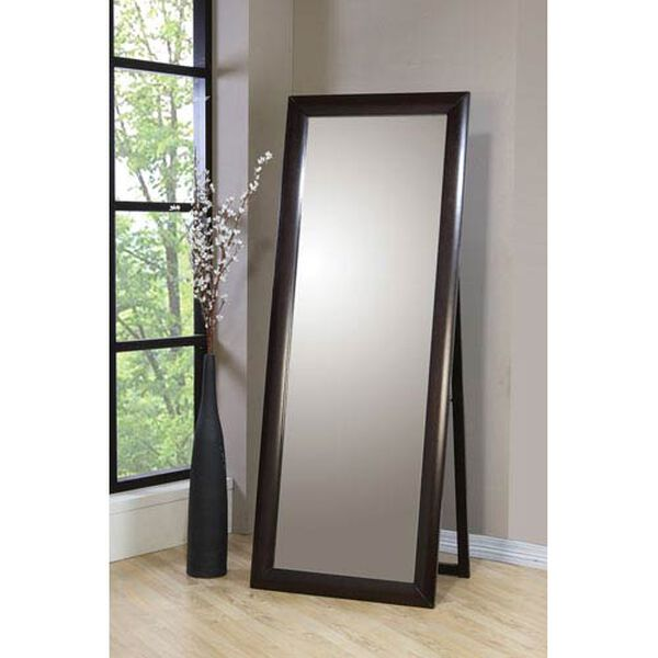 Phoenix Contemporary Standing Floor Mirror, image 1