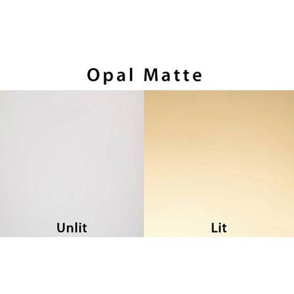 Geo 9 Opal Matte One-Light LED Flush Mount, image 2