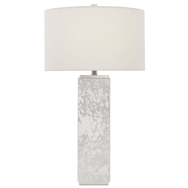 Sundew Silver and Nickel One-Light Table Lamp, image 1