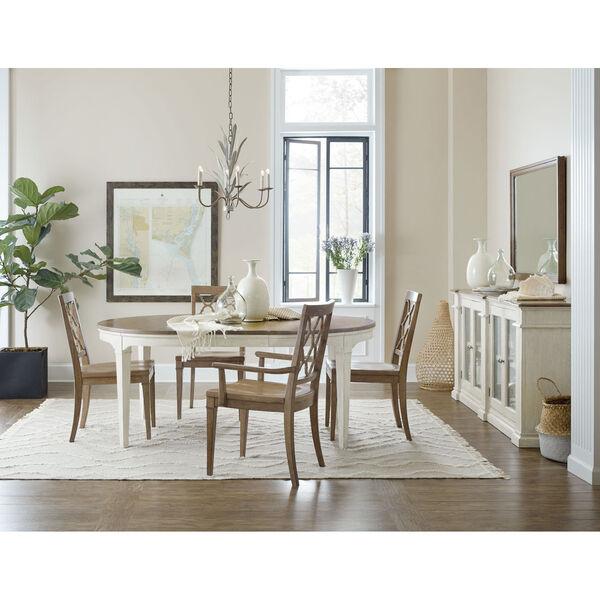 Montebello Carob Brown Side Chair, image 4