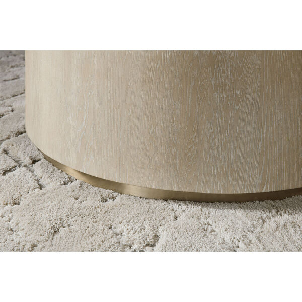 Cascade Taupe Round Cocktail Table, image 3