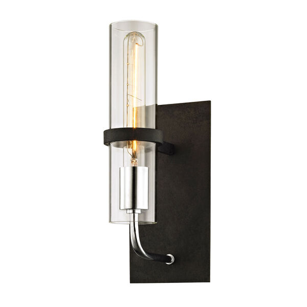 Broughton Vintage Iron One-Light Wall Sconce, image 1