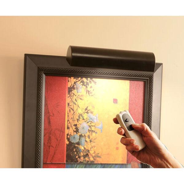 Slimline Black 8 Inch Cordless LED Remote Control Picture Light, image 2