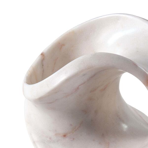 Lyric White Marble Sculpture, image 3