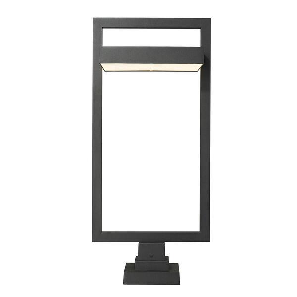 Luttrel Black 32-Inch One-Light LED Outdoor Pier Mount, image 4