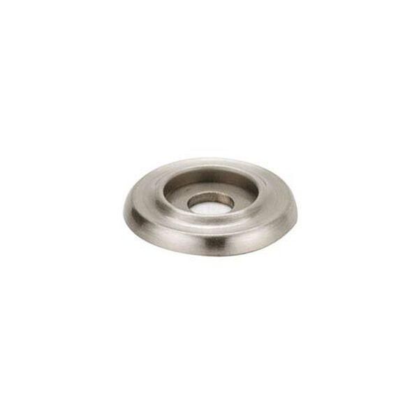 Satin Nickel 1-Inch Backplate, image 1