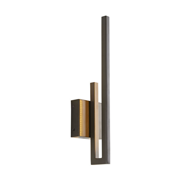 Simba Aged Iron Two-Light LED Outdoor Wall Sconce, image 4