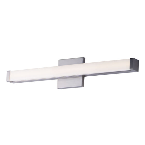 Spec Vanity Satin Nickel 24-Inch LED Bath Bar, image 1
