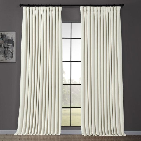 White 100 X 96 Inch Blackout Curtain, White Room Darkening Curtains 96 Inch