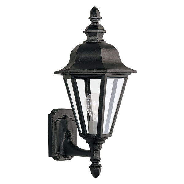 Classic Cast Outdoor Black Up Wall Mount, image 1