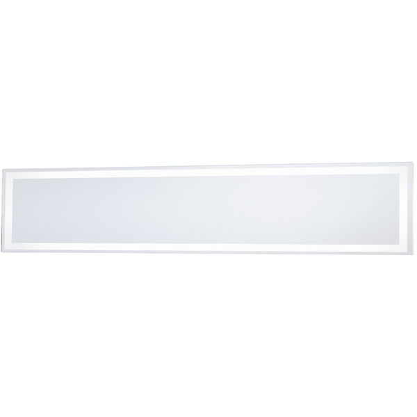 White 36-Inch Rectangle Mirror with LED, image 1