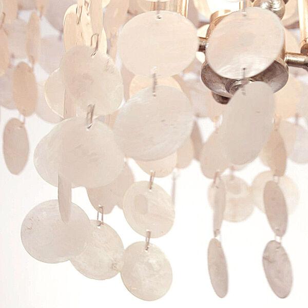 Brielle Four-Light Antique Silver Chandelier, image 3