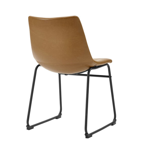 Whiskey Brown Dining Chair, set of 2, image 4