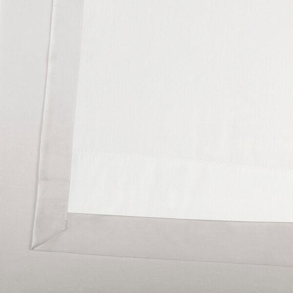 Ice Vintage Textured Faux Dupioni Silk Single Panel Curtain, 50 X 120, image 6