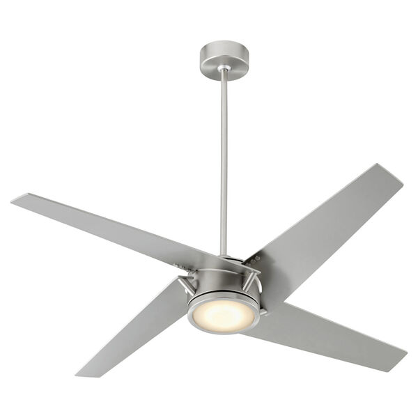 Axis Satin Nickel 54-Inch LED Ceiling Fan, image 4