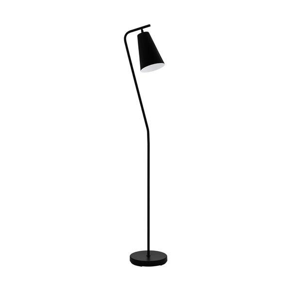 Rekalde Black and White One-Light Floor Lamp, image 1
