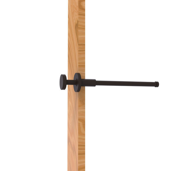 Fresno Oil Rubbed Bronze Pull-Out Garment Rod , image 1