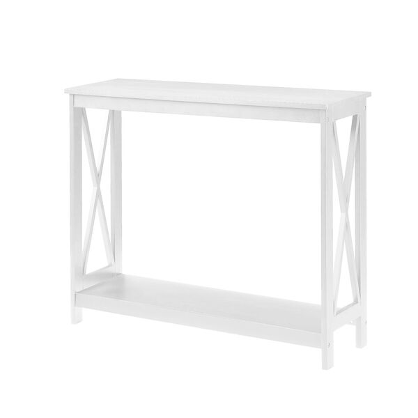 Oxford White Console Table, image 1