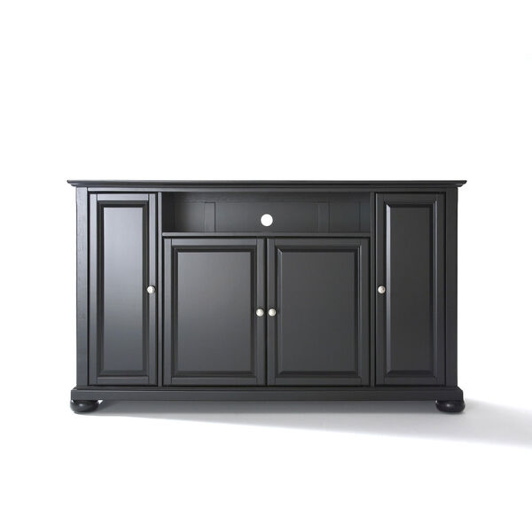 Alexandria 60-Inch TV Stand in Black Finish, image 1