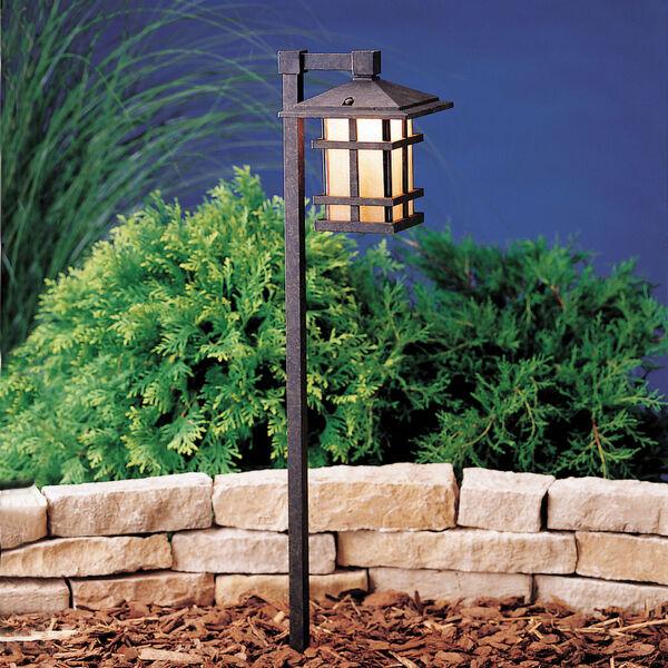Aged Bronze Line Voltage One-Light Landscape Path Light, image 1