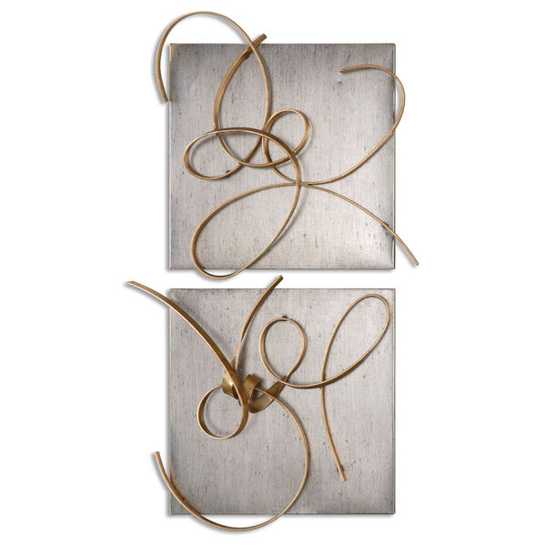 Harmony by Grace Feyock: 24 x 22-Inch Metal Wall Art, Set of Two, image 2