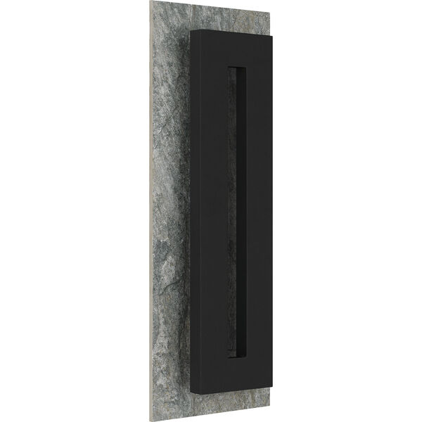Tate Earth Black 22-Inch LED Outdoor Wall Mount, image 2