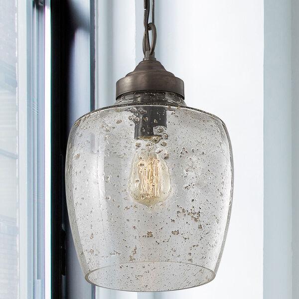 Pewter One-Light Farmhouse Mini Pendant, image 2