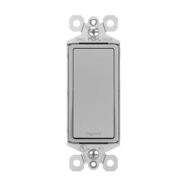 Gray 15A 3-Way Switch, image 1