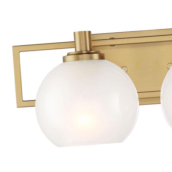 Cowen Brushed Gold Two-Light Bath Vanity, image 2