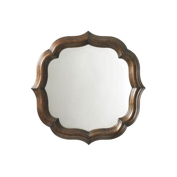 Royal Kahala Gold Lotus Blossom Mirror, image 1