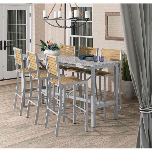 Travira Natural Tekwood Bar Chair, image 3