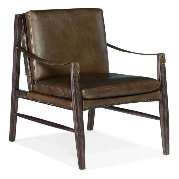 Sabi Sands Dark Wood Sling Chair, image 1