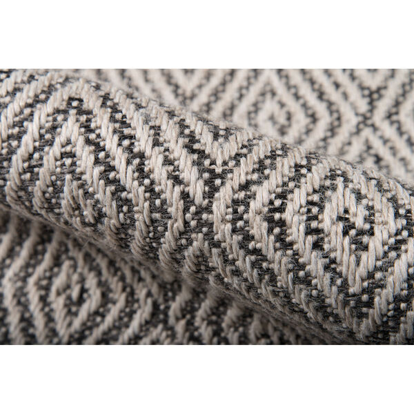 Downeast Wells Charcoal Rectangular: 6 Ft. 7 In. x 9 Ft. 6 In. Rug, image 5