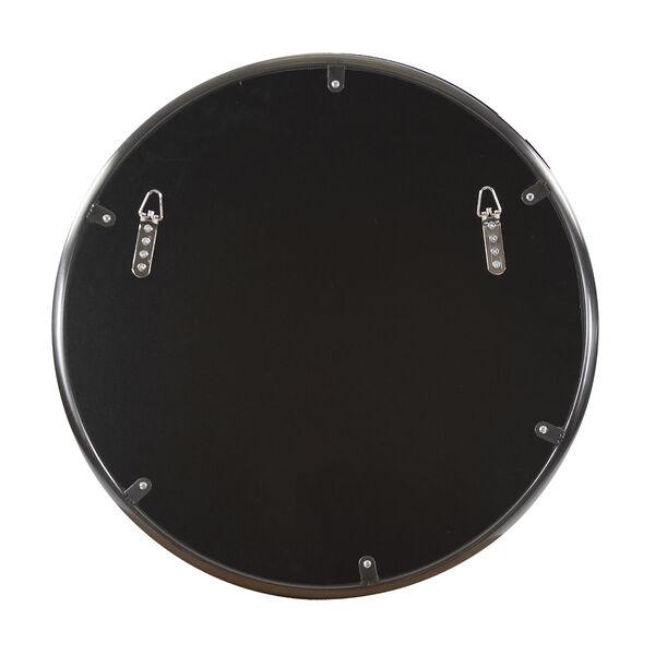 Yorkville Brushed Titanium 20-Inch Round Wall Mirror, image 4