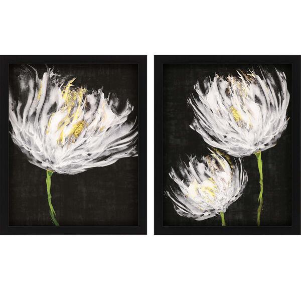 Tulips on Black Black Framed Art, Set of Two, image 2