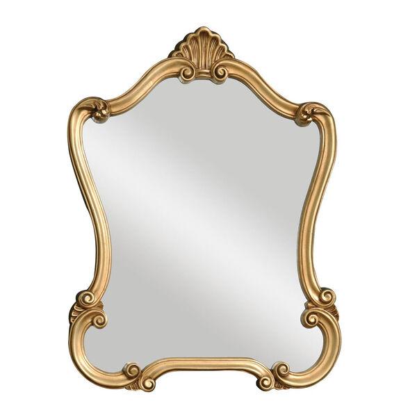 Vivian Gold Framed Wall Mirror, image 2