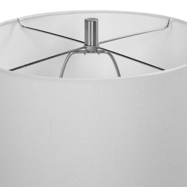 Vivian Brushed Nickel 29-Inch One-Light Table Lamp, image 6