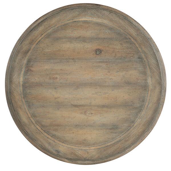 Castella Brown Urn Pedestal End Table, image 2
