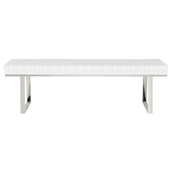 Karlee White and Silver Bench, image 2