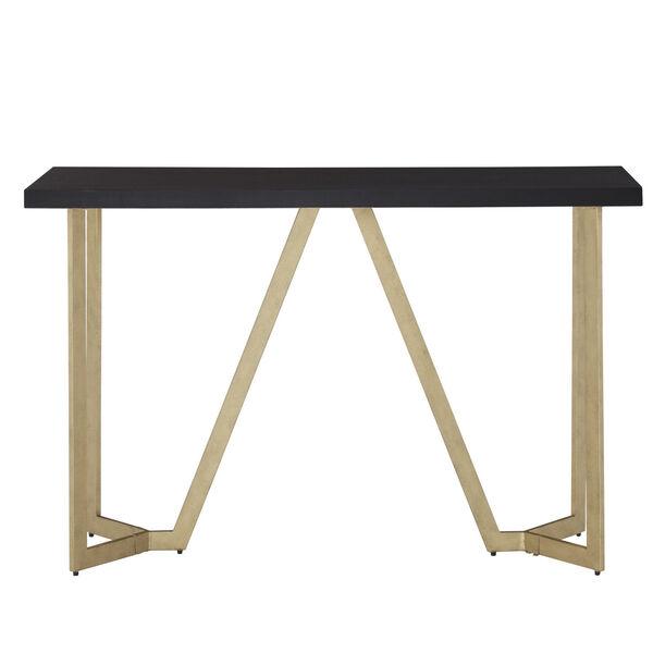 Helena Black and Gold Sofa Table, image 3