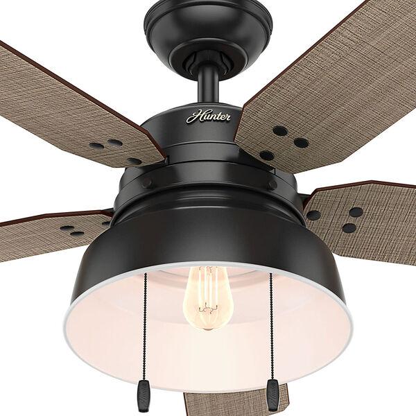 Mill Valley Matte Black 52-Inch One-Light LED Adjustable Ceiling Fan, image 2