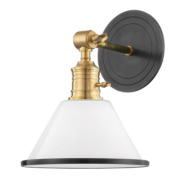 Garden City Aged Old Bronze 11-Inch One-Light Wall Sconce, image 1