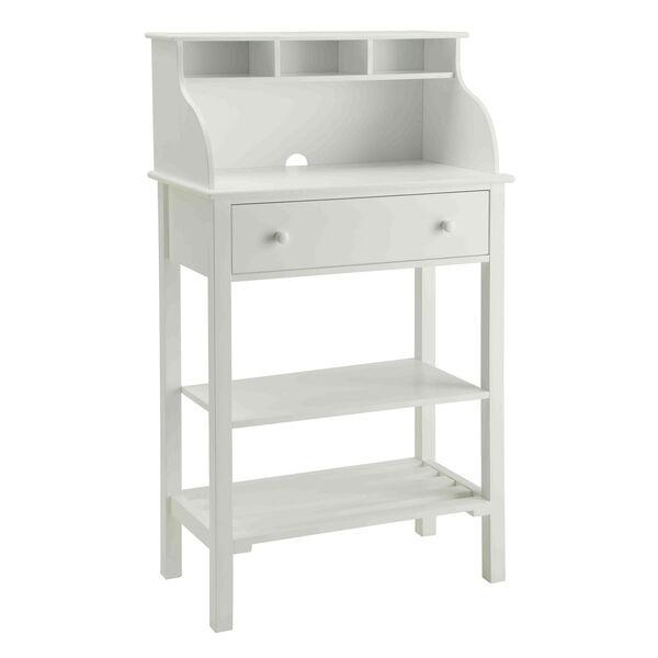 Designs2Go White Storage Desk, image 1