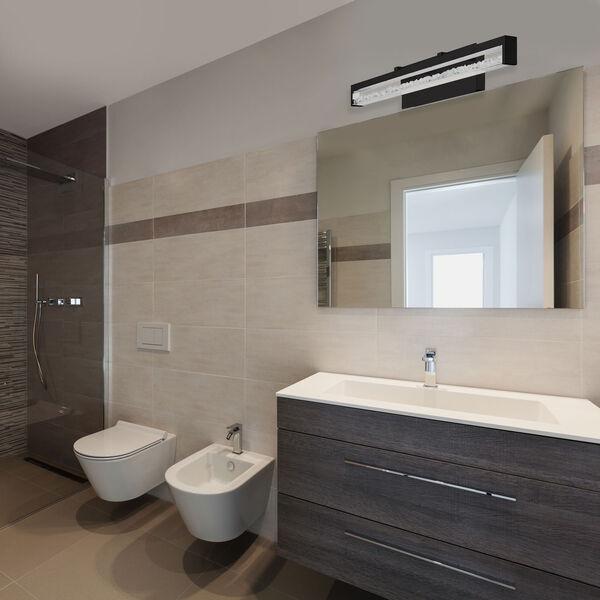 Cardito Black 28-Inch LED Bath Vanity, image 2