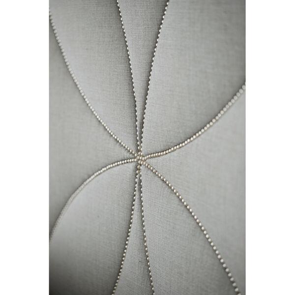 Silken Pearl Calista Upholstered Bed, image 2