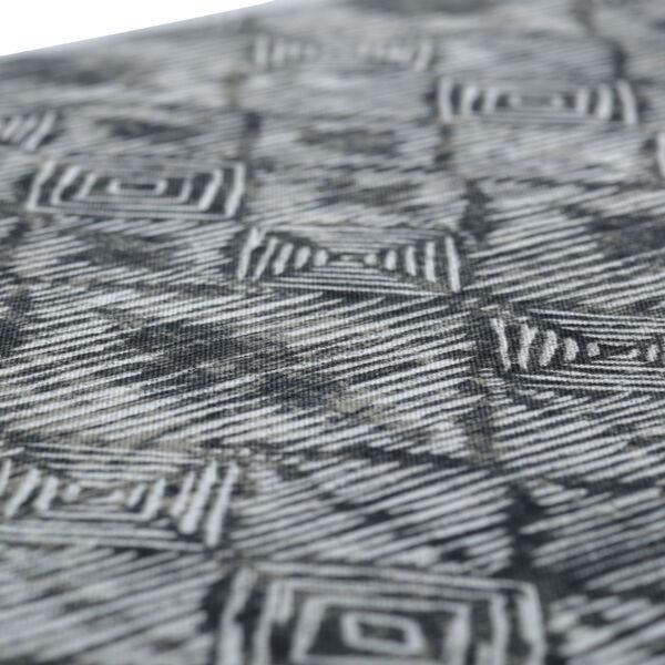 Nesco Black Tan Off-White Bench Cushion, image 4