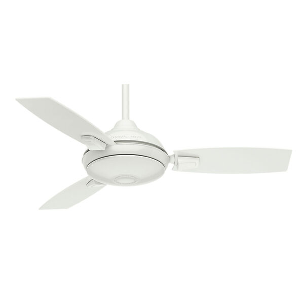 Verse Fresh White 44-Inch LED Ceiling Fan, image 1