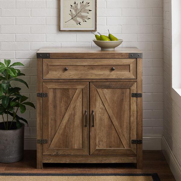 Barnwood Accent Cabinet, image 2